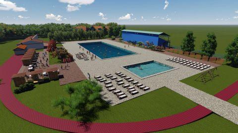 Návrh na úpravu Vrbary a výstavbu bazénu vo Vrbare